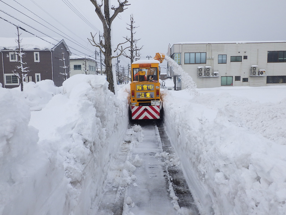 福井県雪害災害派遣
