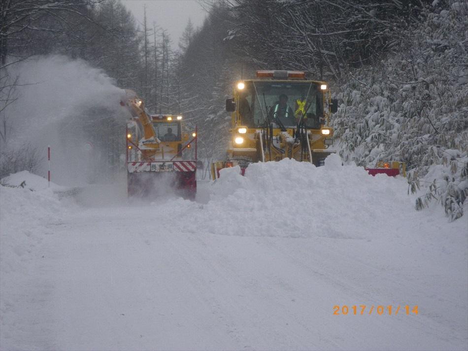 除雪・維持工事8